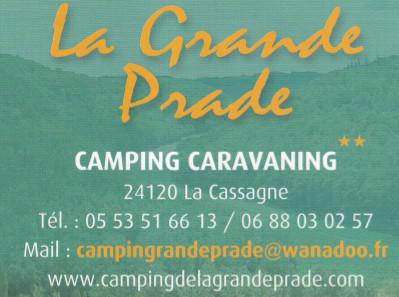 Camping la grande prade